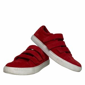 Kenneth Cole Velcro Sneaker Red 6
